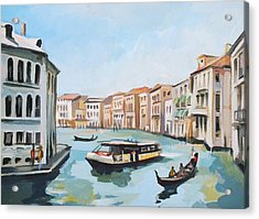 Grand Canal 2 Acrylic Print by Filip Mihail