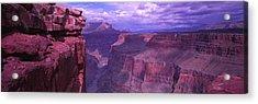 Grand Canyon, Arizona, Usa Acrylic Print by Panoramic Images