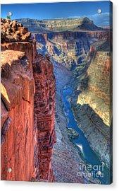 Grand Canyon Awe Inspiring Acrylic Print by Bob Christopher