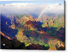 Grand Canyon Of The Pacific Acrylic Print by Kevin Smith