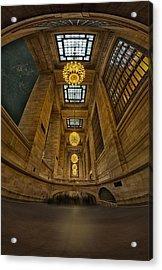 Grand Central Corridor Acrylic Print by Susan Candelario