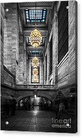 Grand Central Station IIi Ck Acrylic Print by Hannes Cmarits