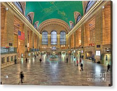 Grand Central Terminal IIi Acrylic Print by Clarence Holmes