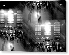 Grand Concourse Acrylic Print by Diana Angstadt