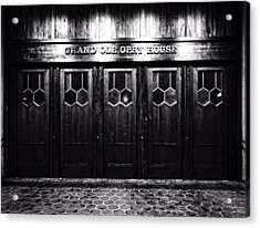 Grand Ole Opry House Acrylic Print by Dan Sproul