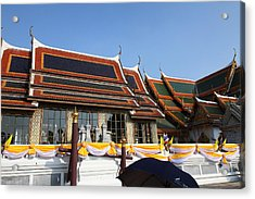 Grand Palace In Bangkok Thailand - 011337 Acrylic Print by DC Photographer