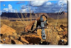 Grandmother's Belt Acrylic Print by Chelsea Begay