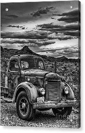 Grandpa's Ride Acrylic Print by Eddie Yerkish