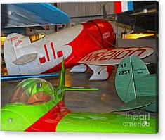 Granville Brothers Gee Bee R-1 Racer Acrylic Print by Gregory Dyer