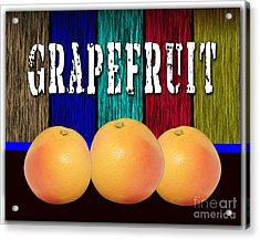 Grapefruit Acrylic Print by Marvin Blaine