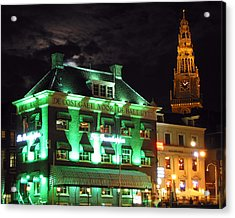 Grasshopper Bar Acrylic Print by Adam Romanowicz