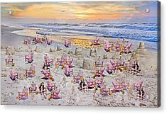 Grateful Holiday Acrylic Print by Betsy C Knapp