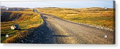Gravel Road Passing Acrylic Print by Panoramic Images