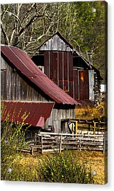 Great Grandpa's Place Acrylic Print by Debra and Dave Vanderlaan