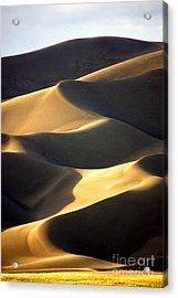 Great San Dunes - Sunset Acrylic Print by Douglas Taylor