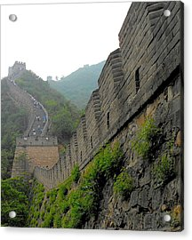 Great Wall 1 Acrylic Print by Kay Gilley