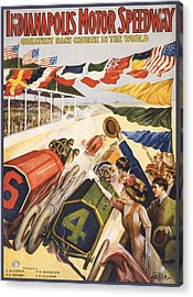 Greatest Race Course In The World Acrylic Print by Aged Pixel