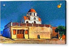 Greek Church 7 Acrylic Print by George Rossidis