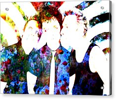 Green Day 1 Acrylic Print by Brian Reaves