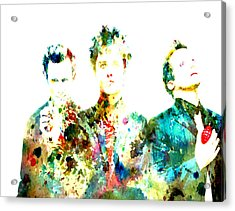 Green Day 2 Acrylic Print by Brian Reaves