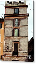 Green In The Middle Acrylic Print by John Rizzuto