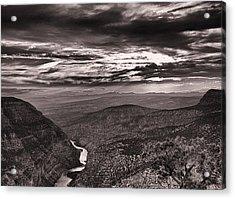 Green River Canyon Acrylic Print by Joshua House