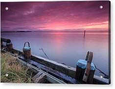 Greenbury Point Sunrise Acrylic Print by Jennifer Casey