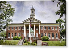 Greeneville Town Hall Acrylic Print by Heather Applegate