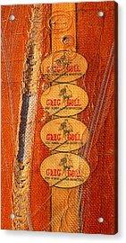 Greg Noll Acrylic Print by Ron Regalado