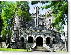 Grey Towers Castle - Beaver College Acrylic Print by Bill Cannon