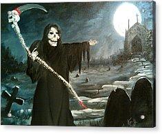 Grim Creeper Acrylic Print by Kevin F Heuman