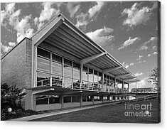 Grinnell College Burling Library Acrylic Print by University Icons