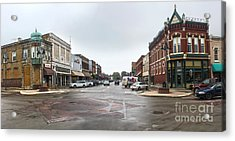 Grinnell Iowa - Downtown - 05 Acrylic Print by Gregory Dyer