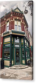 Grinnell Iowa - Downtown - 02 Acrylic Print by Gregory Dyer