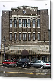 Grinnell Iowa - Masonic Temple -02 Acrylic Print by Gregory Dyer