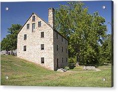 Gristmill @ Mount Vernon Acrylic Print by Jason Huffman