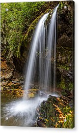 Grotto Falls Great Smoky Mountains Acrylic Print by Pierre Leclerc Photography