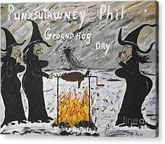 Groundhog Day Acrylic Print by Jeffrey Koss