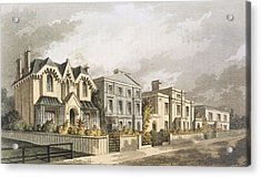 Group Of Villas In Herne Hill Acrylic Print by English School