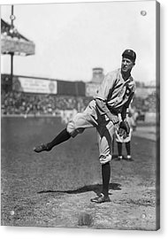Grover Cleveland Alexander Follow Through Acrylic Print by Retro Images Archive