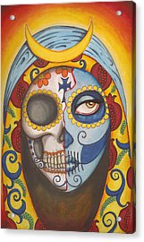 Guadalupe Acrylic Print by Shayne of the  Dead
