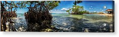 Guamache Beach Venezuela Panorama Acrylic Print by Mountain Dreams