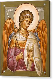 Guardian Angel Acrylic Print by Julia Bridget Hayes