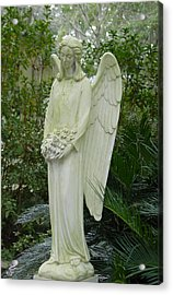 Guardian Angel Acrylic Print by Suzanne Gaff