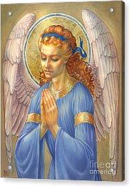 Guardian Angel Acrylic Print by Zorina Baldescu