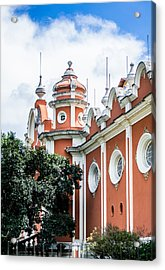 Guatemalan Architecture  Acrylic Print by Shelby  Young
