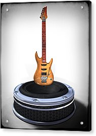 Guitar Desplay V1 Acrylic Print by Frederico Borges