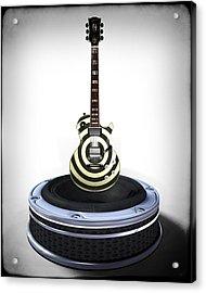 Guitar Desplay V2 Acrylic Print by Frederico Borges
