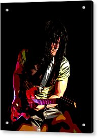 Guitar Shred Acrylic Print by James Hammen