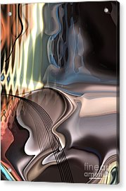 Guitar Sound Acrylic Print by Christian Simonian